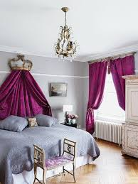 royal purple bedroom photo - 3