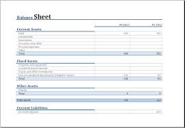 balance sheet template yearly comparison balance sheet template for excel excel templates
