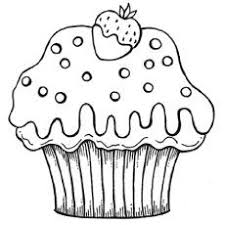 Small Picture Cupcake Printable Coloring Pages Cakes and Ice Cream Pinterest
