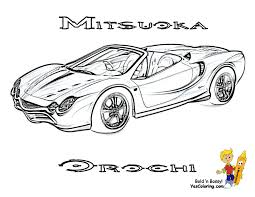Small Picture Fired Up Car Coloring Sheets Car Free Race Car Coloring