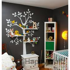 on family tree wall art stickers uk with shelves tree wall sticker with birds