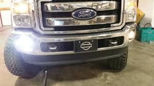 F350 Fog Lights 2005 2015 Ford F250 F350 Fog Light Replacement Kit