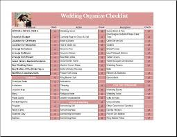 wedding checklist templates ms excel wedding organize checklist template formal word templates