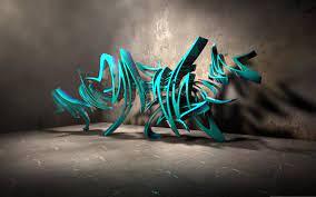 3D Graffiti Art Wallpapers on WallpaperDog