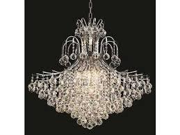 elegant lighting toureg royal cut chrome crystal 15 light 31 wide chandelier