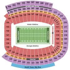 Sanford Stadium Tickets And Sanford Stadium Seating Chart