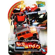 "Робот-трансформер ""<b>HOT WINGS</b>. <b>Джип</b>"" купить по цене 203 ..."