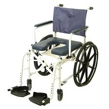 mariner rehab shower commode chair 24 wheels