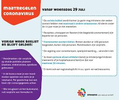 Gemeente Stekene - De Nationale Veiligheidsraad kwam vandaag opnieuw bij  elkaar en kondigde nieuwe maatregelen af. Politie Waasland-Noord ziet toe  op de naleving ervan en treedt streng op. Hou je nauwgezet aan