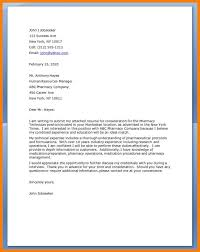 Pharmacy Technician Resume Cover Letter Best of 24 Pharmacy Technicians Letter Zasvobodu