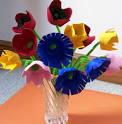 Поделки из бросового материала своими руками цветы