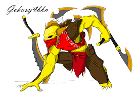 bounty hunter gondar dota 2 by gokussj4bkn on deviantart