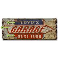 next turn custom corrugated sign