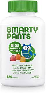SmartyPants Kids Formula & Fiber Daily Gummy ... - Amazon.com