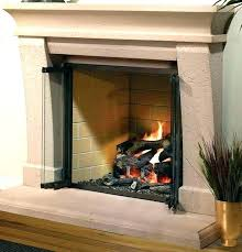wood burning fireplace glass doors ll t stove cleaning