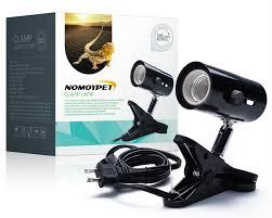 com nomoypet clamp lamp fixture for reptiles adjule