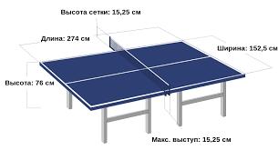 Настольный теннис Википедия Стол и сетка для настольного тенниса