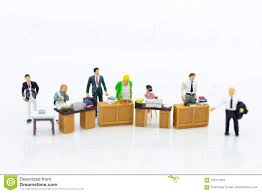 Office Salary Miniature People Working In The Office Salary Man Talent