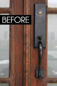 smart front door locksdiy with style A Smart Front Door Makeover  Blue i Style