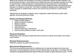 Full Size of Resume:patient Care Technician Resume With No Experience  Awesome Phlebotomy Resume Certified ...