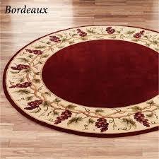 next circular rugs ft round rug foot circle large red wool rugs area yellow