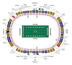 M T Bank Stadium Diagrams Baltimore Ravens