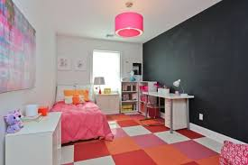 Contemporary Kidu0027s Bedroom With Chalkboard Wall. Wall Paint Ideas