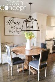 diy round table as seen on open concept