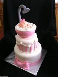 Cute Girl Baby Shower Cake Ideas Omega Centerorg Ideas For Baby