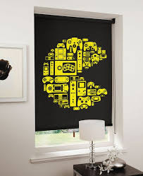 bedroom comely excellent gaming room ideas. Game On: Relive The 8-bit Era With Designer Blinds Bedroom Comely Excellent Gaming Room Ideas O