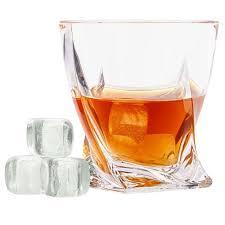 <b>Камни для охлаждения напитков</b> из хрусталя