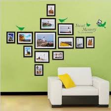 Arrange A Modern Frame Wall  Ideas U0026 Advice  Room U0026 BoardWall Picture Frames For Living Room