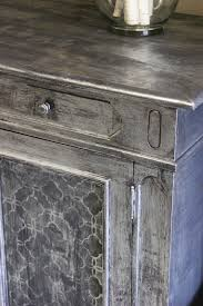 Zinc Finish Furniture Great Tutorial Using Artisan Enhancements Leaf And Foil Size And