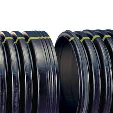 dual wall corrugated hdpe drainage pipe is a dual wall high density polyethylene pipe with its smooth interior wall and corrugated exterior wall offers