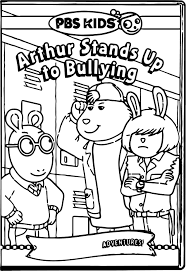 Arthur Pbs Kids Coloring Pages Wecoloringpage Pinterest