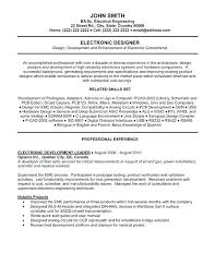 Engineering Technician Resumes Electronic Technician Resume Template Short Large Size Of Sample
