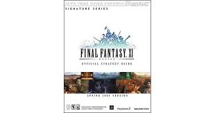 Final Fantasy Xi Official Strategy Guide For Ps2 Pc By