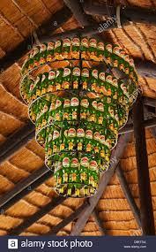 Bier Flasche Kronleuchter Open Air Bar Planet Baobab