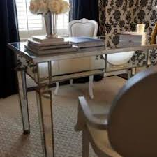 office desk mirror. Contemporary Mirror Gorgeous Mirrored Metal Desk In Transitional Office For Mirror N