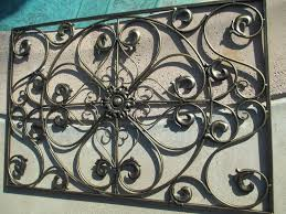 decorative wrought iron wall panel grill grate window door ceiling light 32 wrought iron decorative wall panels