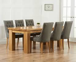 wonderful dining room table and fabric chairs with best 25