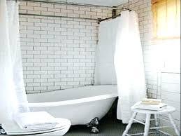 claw foot bath tub shower shower curtains for tub bathtub clawfoot bathtub shower kit