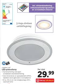 Led Plafondlamp Aanbieding Bij Lidl