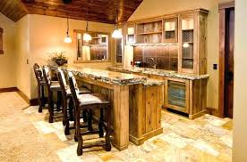 Home Basement Bar Rustic Ideas Inspirations Bars
