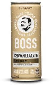 Suntory boss coffee started its history in 1992 in japan. Vanilla Iced Latte Suntory Boss Coffee No 1 Coffee In A Can In Japan