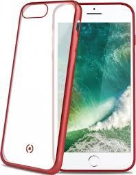 <b>Клип</b>-<b>кейс Celly Laser Matt</b> iPhone 8 Plus Red - цена на Клип-кейс ...
