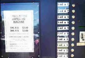 Needle Vending Machine Las Vegas Impressive Unusual Vending Machines Selling Gold Bars Used Underwear Weed