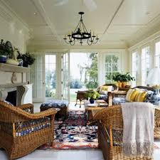 Wicker sunroom furniture Brown Wicker Elegant Gray Floor Sunroom Photo In Baltimore With Standard Ceiling Houzz Wicker Sunroom Furniture Houzz
