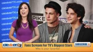 SCREAM Awards 2011 -- Tyler Posey, Colton Haynes, Paul Wesley, Holland Roden