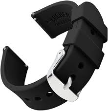 Archer <b>Watch</b> Straps | <b>Silicone</b> Quick Release Soft <b>Rubber</b> ...
